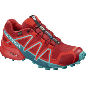 Salomon Speedcross 4 GTX Trailrunning Shoes Women Barbados Cherry/Poppy Red/Deep Lago